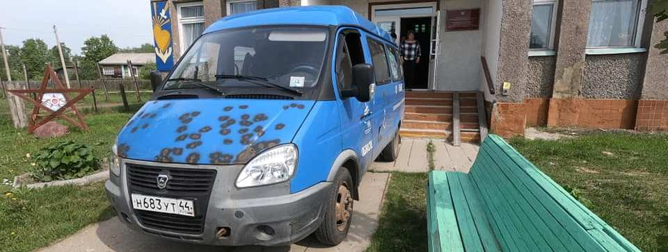 Гуманитарная помощь для сел и деревень Кадыйского района