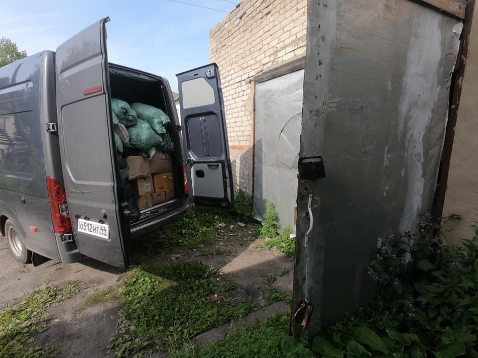 Гманитарная помощь в Мантурово